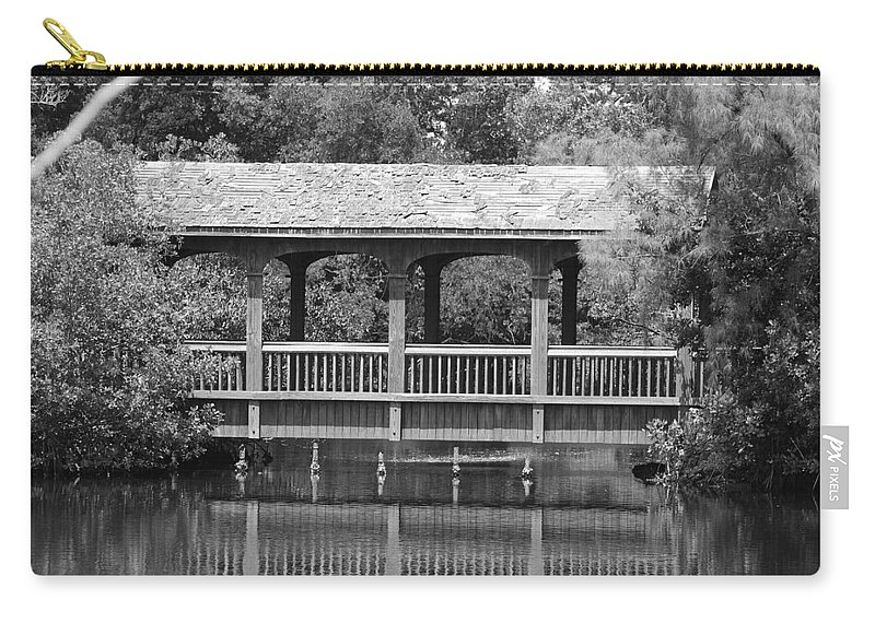 Architecture Carry-all Pouch featuring the photograph The Bridges Of Miami Dade County by Rob Hans