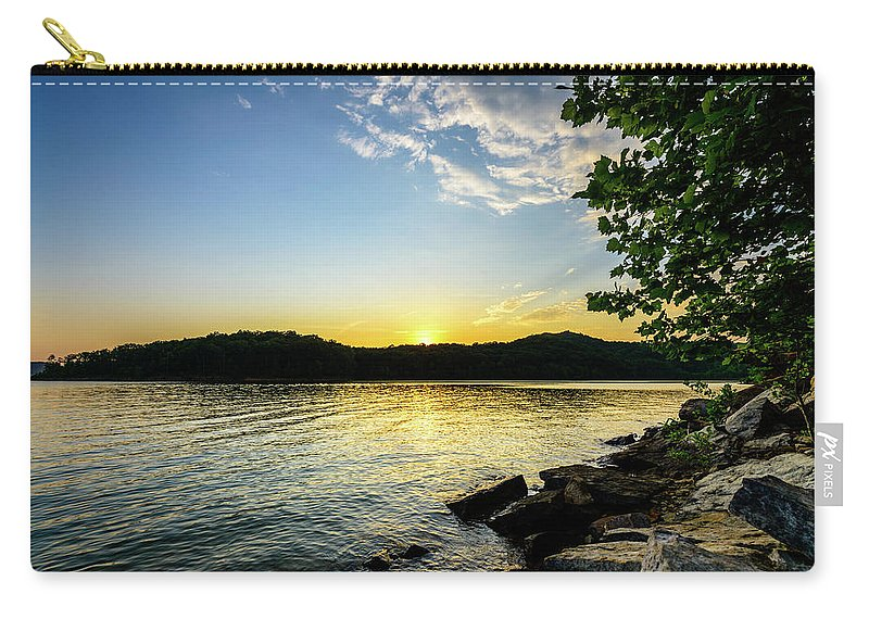Kentucky Carry-all Pouch featuring the photograph The Brink Of Night by Michael Scott