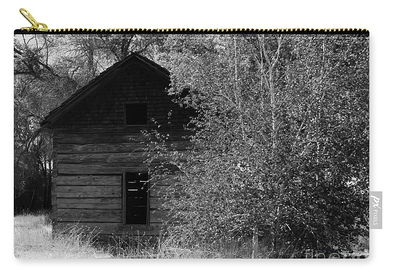 Cabin Carry-all Pouch featuring the photograph The Cabin by Carol Groenen