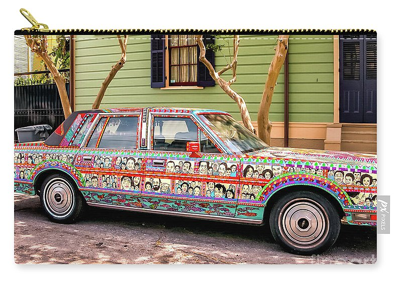 Car Carry-all Pouch featuring the photograph The Car by Kathleen K Parker