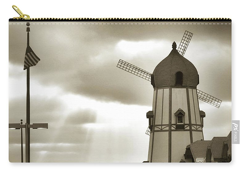 Carlsbad Carry-all Pouch featuring the photograph The Carlsbad by Luv Photography