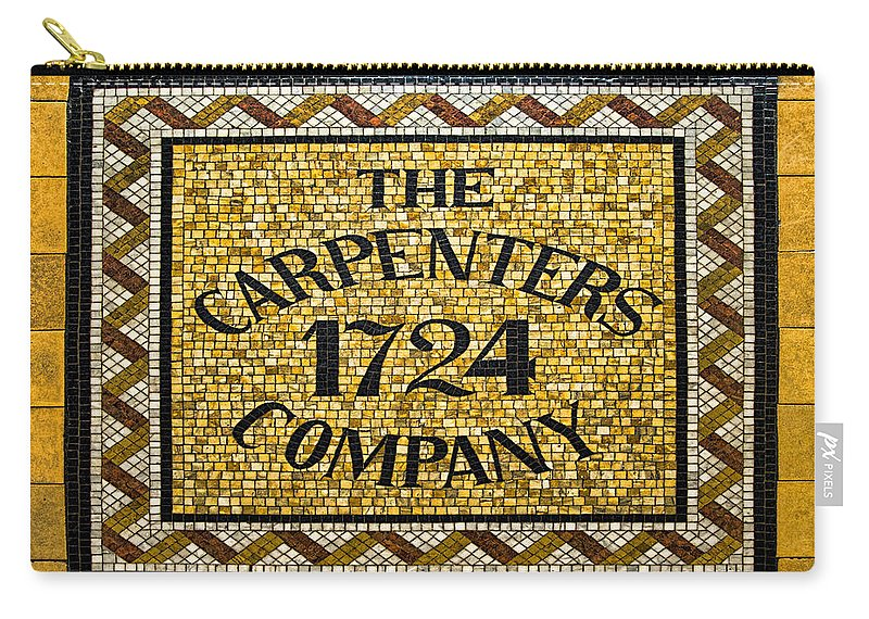 Carpenters Company Carry-all Pouch featuring the photograph The Carpenters Company by Stephen Stookey
