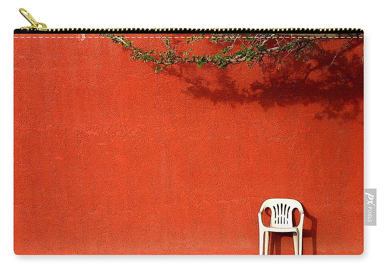 Chair Carry-all Pouch featuring the photograph The Chair by Joe Kozlowski