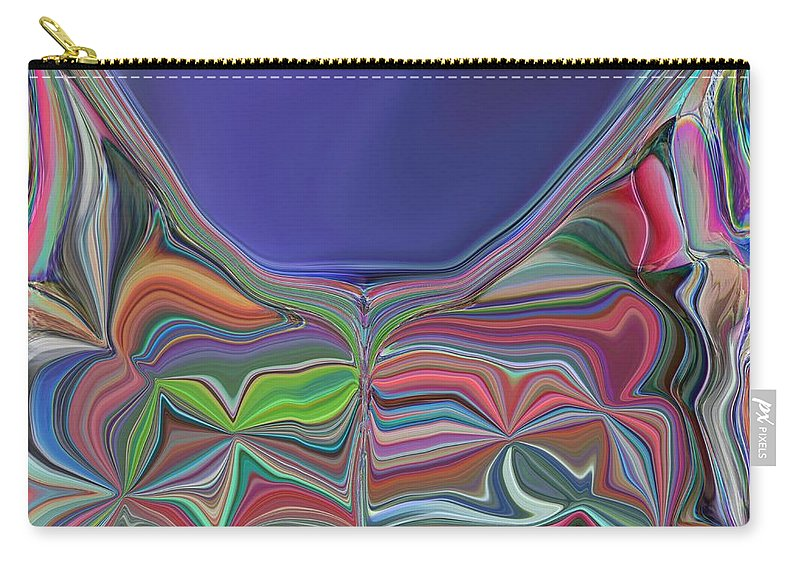 Chalice Carry-all Pouch featuring the digital art The Chalice by Tim Allen