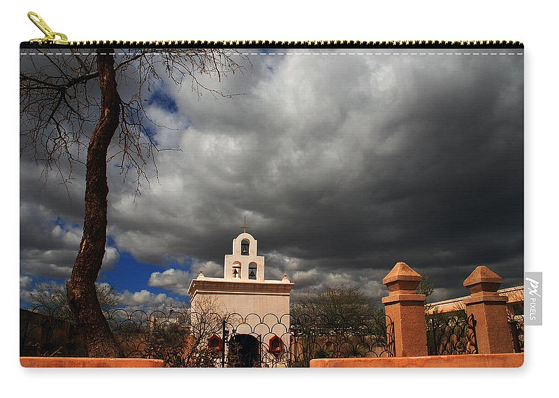 Photography Carry-all Pouch featuring the photograph The Chapel by Susanne Van Hulst