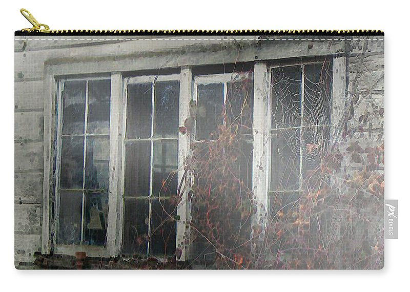 Boy Carry-all Pouch featuring the painting The Child At The Window by RC DeWinter
