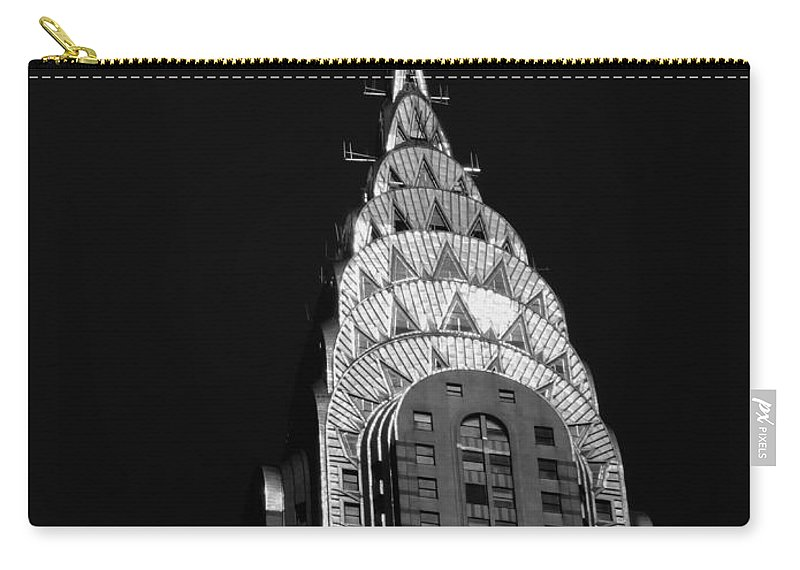 Chrysler Building Carry-all Pouch featuring the photograph The Chrysler Building by Vivienne Gucwa