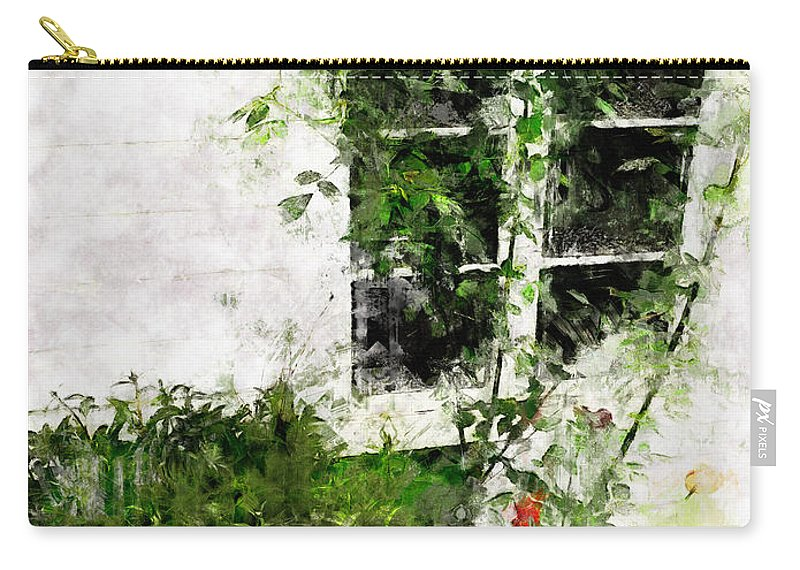 Window Carry-all Pouch featuring the photograph The Climb by Claire Bull