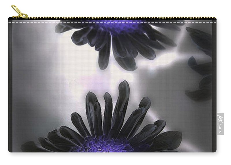 Flowers Carry-all Pouch featuring the photograph The color within by Linda Sannuti