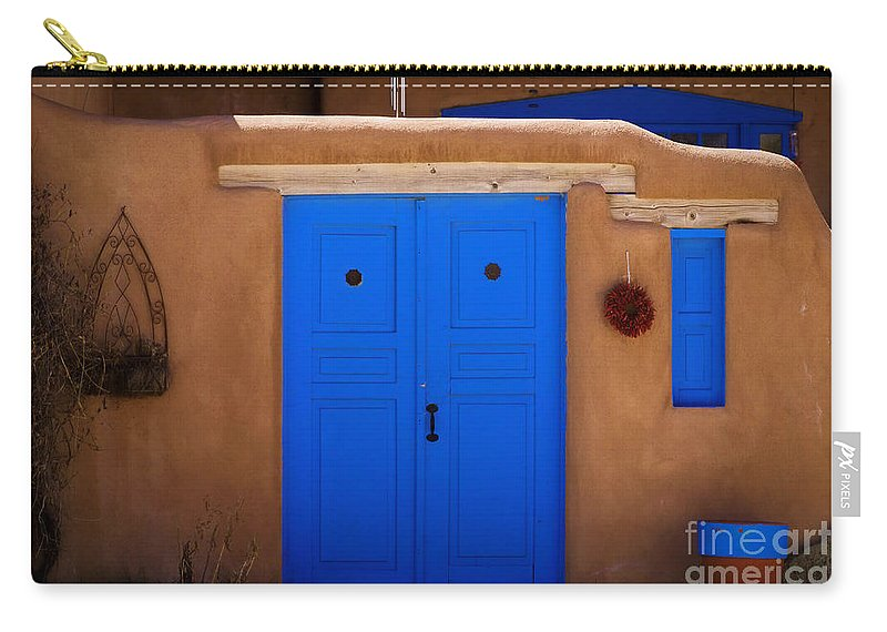 The Colors Of New Mexico Carry-all Pouch featuring the photograph The Colors Of New Mexico by Jon Burch Photography