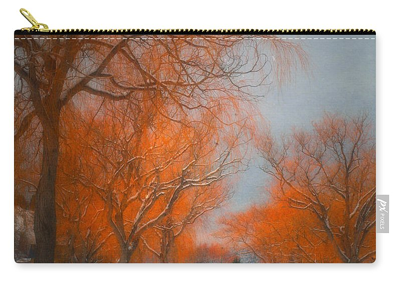 Summerland Carry-all Pouch featuring the photograph The Colours Of Winter by Tara Turner