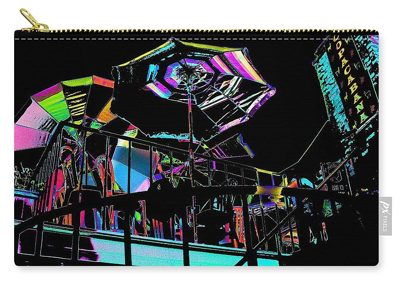 Seattle Carry-all Pouch featuring the digital art The Copacabana by Tim Allen