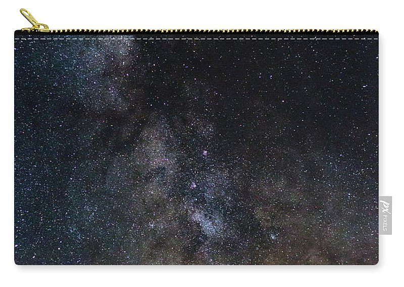 Photography Carry-all Pouch featuring the photograph The Core Of The Milky Way by Justin Starr