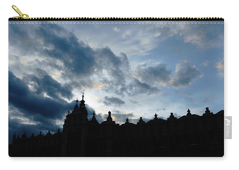 Cloth Carry-all Pouch featuring the photograph The Crakow Cloth Hall by Elena Rodionova
