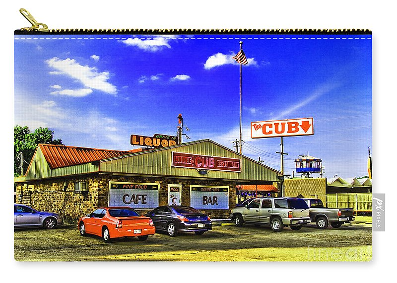 Restaurant Carry-all Pouch featuring the photograph The Cub by Scott Pellegrin