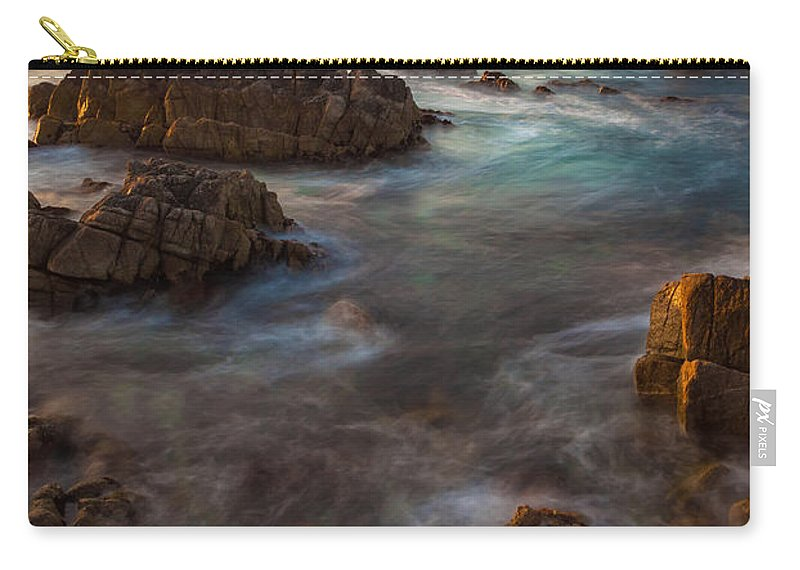 Landscape Carry-all Pouch featuring the photograph The Current by Jonathan Nguyen