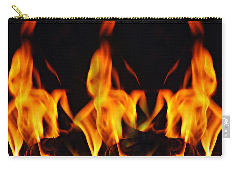 Dance Carry-all Pouch featuring the photograph The Dance by Munir Alawi