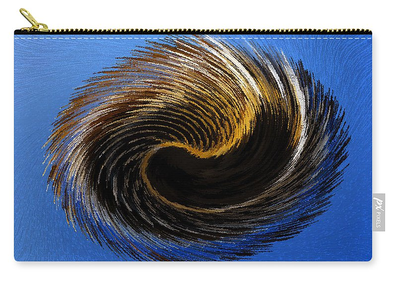 Artwork Carry-all Pouch featuring the painting The Digital Paintbrush by David Lee Thompson