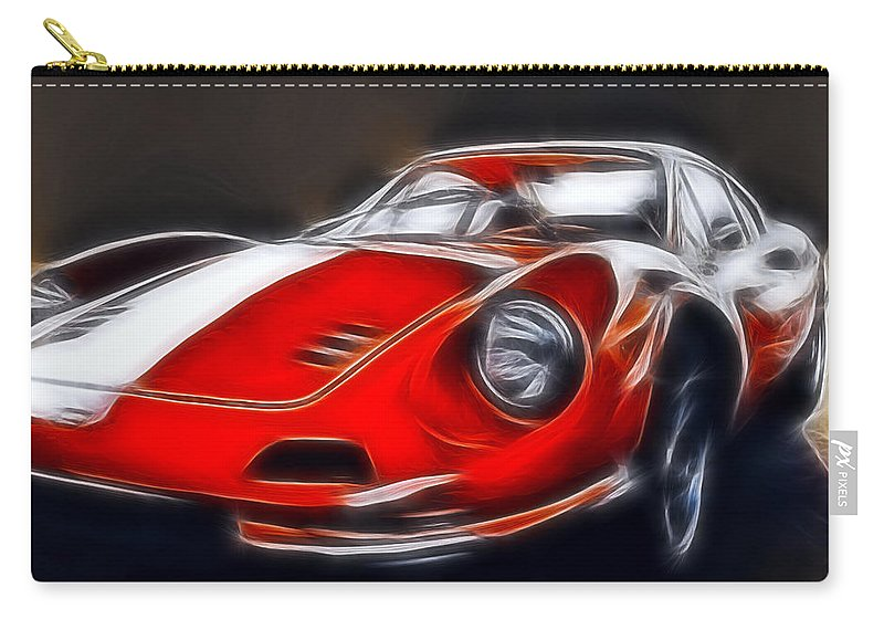 Auto Carry-all Pouch featuring the photograph The Dino by Joachim G Pinkawa
