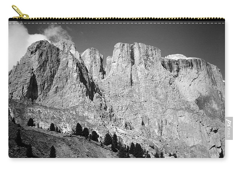 Europe Carry-all Pouch featuring the photograph The Dolomites by Juergen Weiss