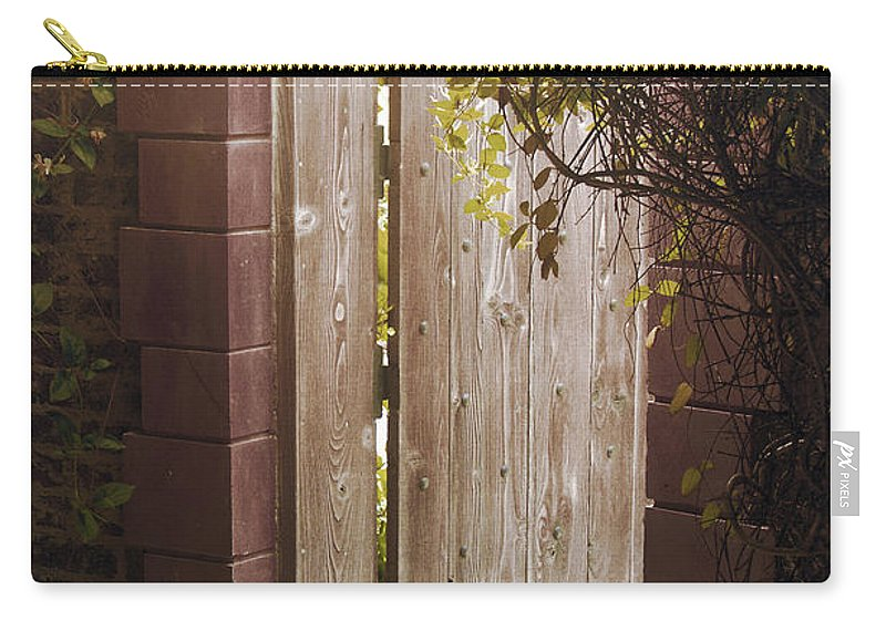 Arch Carry-all Pouch featuring the photograph The Doorway by Jackie Farnsworth