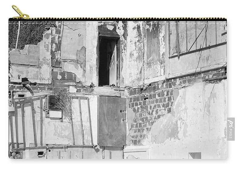 Architecture Carry-all Pouch featuring the photograph The Doorway To Darkness by Rob Hans