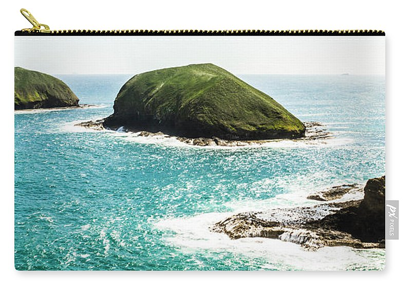 Island Carry-all Pouch featuring the photograph The Doughboys Island Landscape by Jorgo Photography - Wall Art Gallery