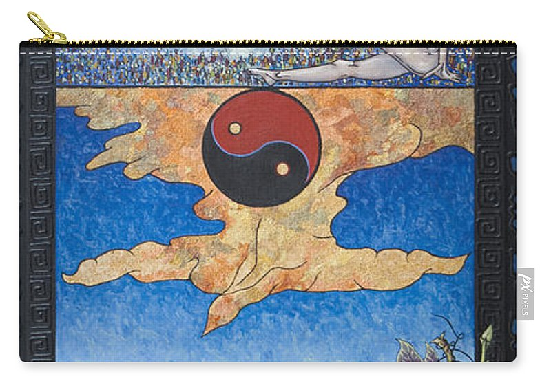Karma Carry-all Pouch featuring the painting The Dream by Judy Henninger