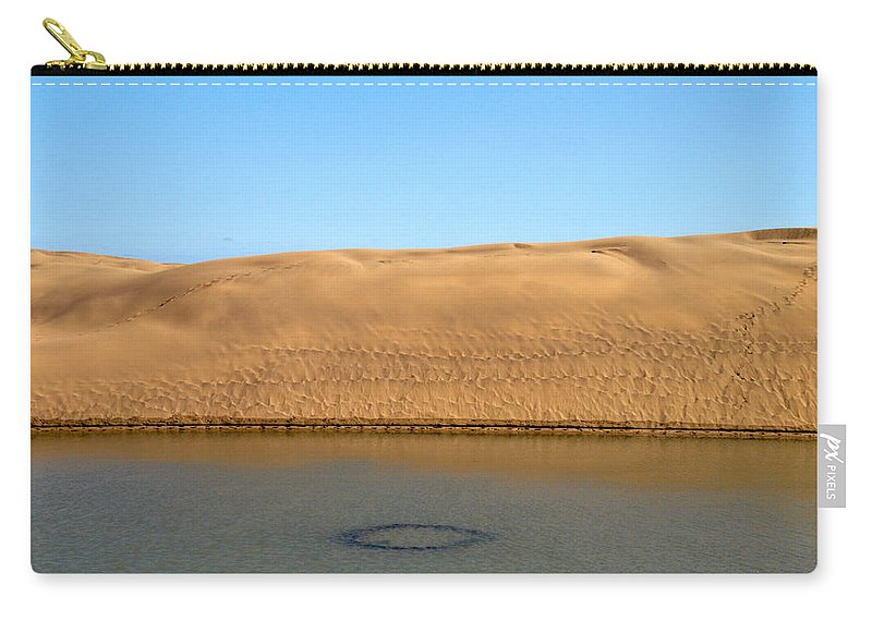 Lehtokukka Carry-all Pouch featuring the photograph The Dunes Of Maspalomas 3 by Jouko Lehto