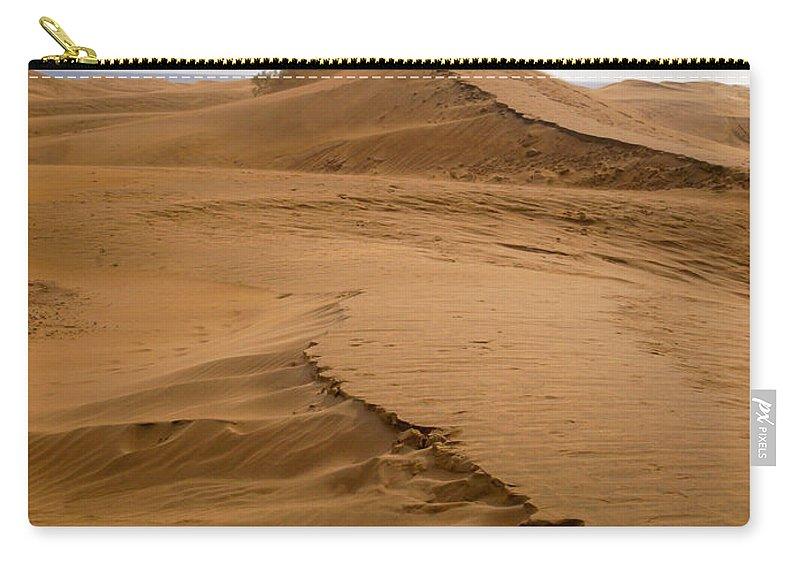 Lehtokukka Carry-all Pouch featuring the photograph The Dunes Of Maspalomas 4 by Jouko Lehto