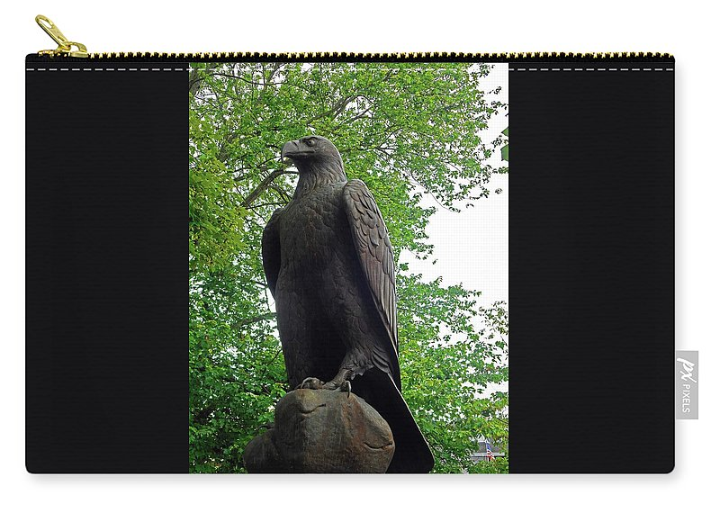 Sevierville Carry-all Pouch featuring the photograph The Eagle 1 by Ron Kandt