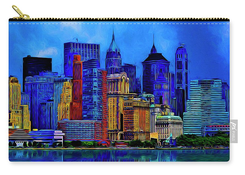 The East Side Carry-all Pouch featuring the photograph The East Side by Paul Wear
