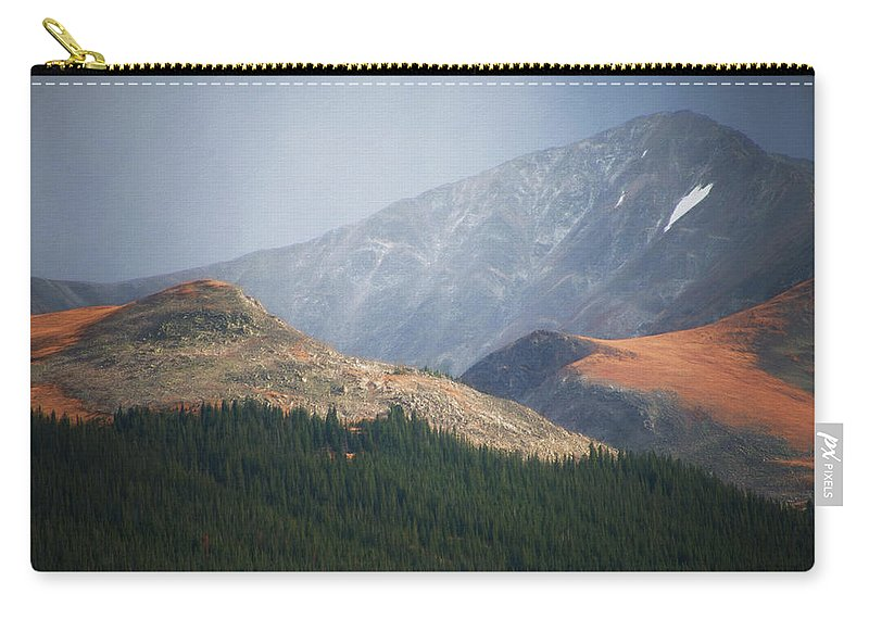 Photographs Framed Carry-all Pouch featuring the photograph The End by Doug Johnston
