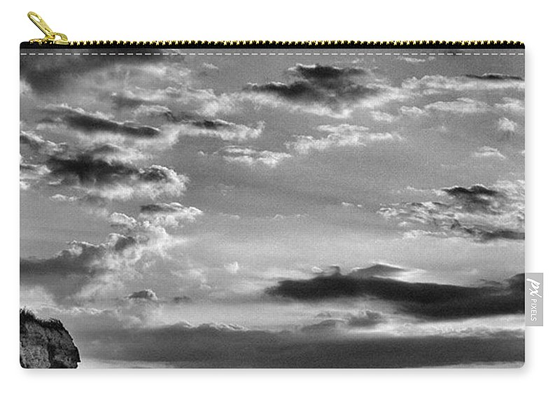 Natureonly Carry-all Pouch featuring the photograph The End Of The Day, Old Hunstanton by John Edwards