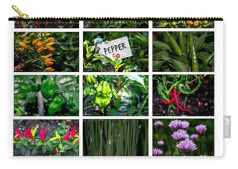 Thai Garden Carry-all Pouch featuring the photograph The Essential Thai Garden II by Dennis R Bean