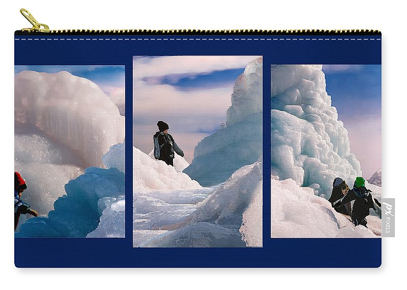Landscape Carry-all Pouch featuring the photograph The Explorers by Steve Karol