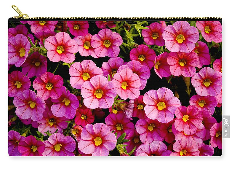 Flowers Carry-all Pouch featuring the photograph The Eyes by Greg Fortier