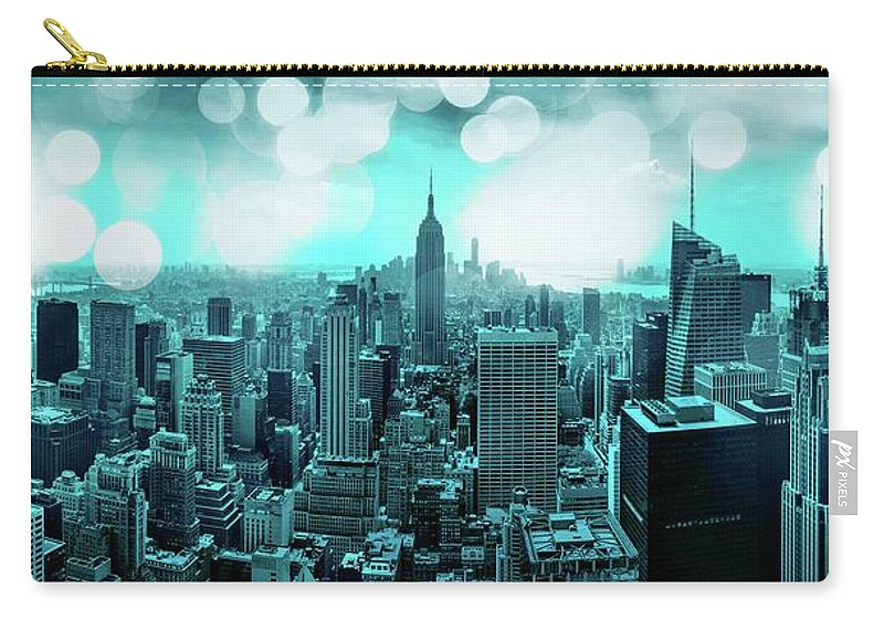 Empire State Building Carry-all Pouch featuring the photograph The Fairytale Begins by Az Jackson