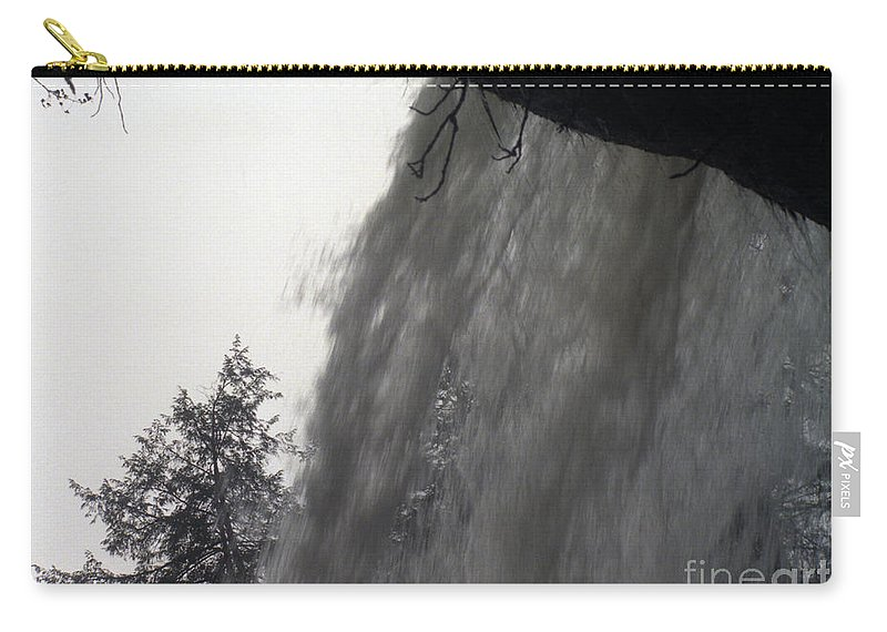Waterfalls Carry-all Pouch featuring the photograph The Falls by Richard Rizzo
