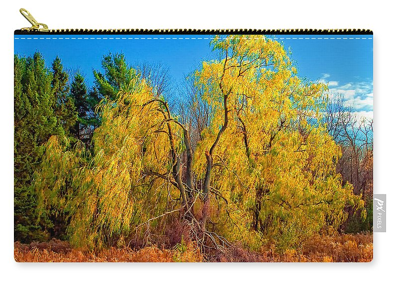 Willow Carry-all Pouch featuring the photograph The Fight To Be Green by Steve Harrington