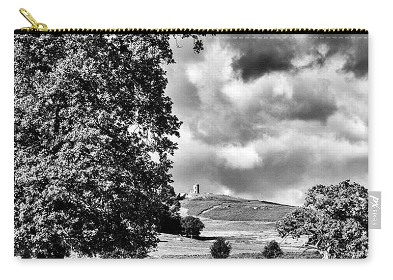 Parkland Carry-all Pouch featuring the photograph Old John Bradgate Park by John Edwards