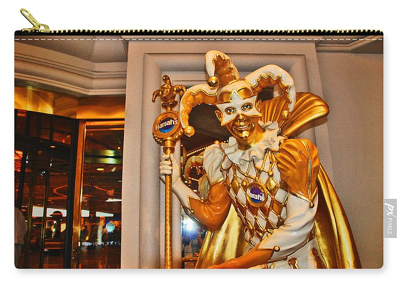 Photography Carry-all Pouch featuring the photograph The Fool by Susanne Van Hulst