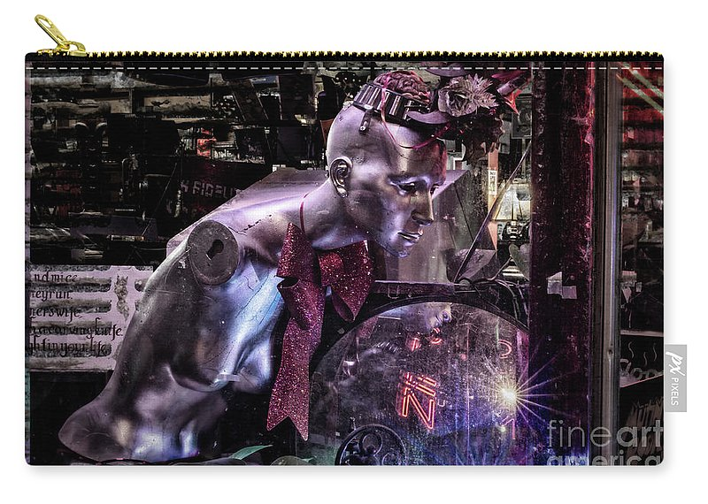 Futuristic Carry-all Pouch featuring the photograph The Future Is Now by Stacey Trujillo