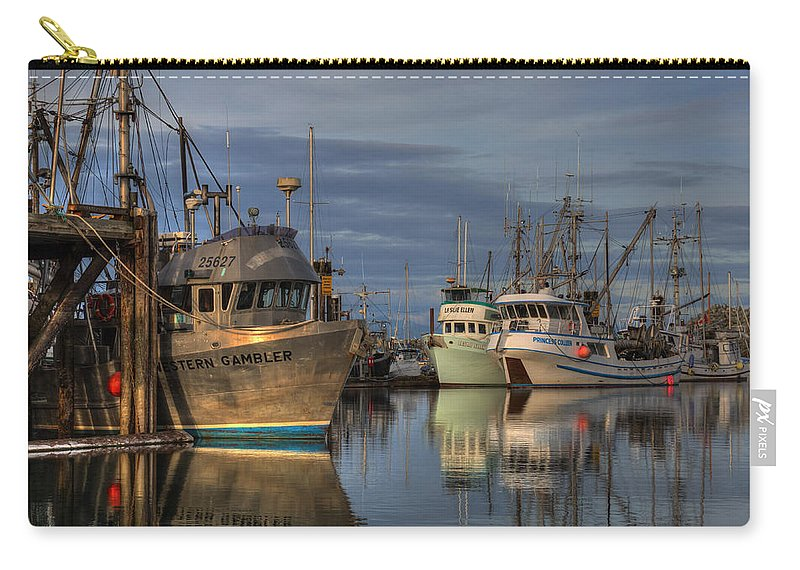 Fishing Boats Carry-all Pouch featuring the photograph The Gambler by Randy Hall