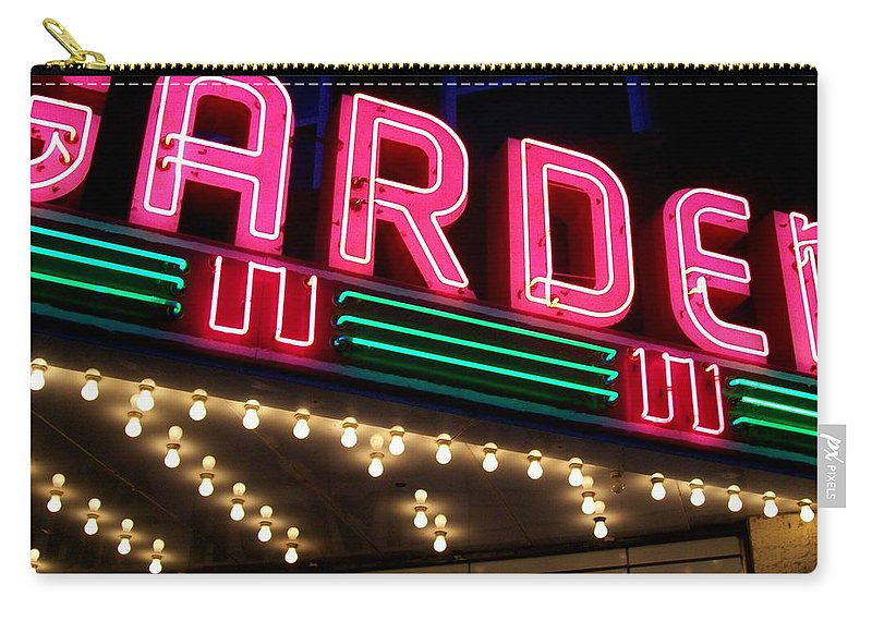 Theater Carry-all Pouch featuring the photograph The Garden Frankfort Mi by Michelle Calkins