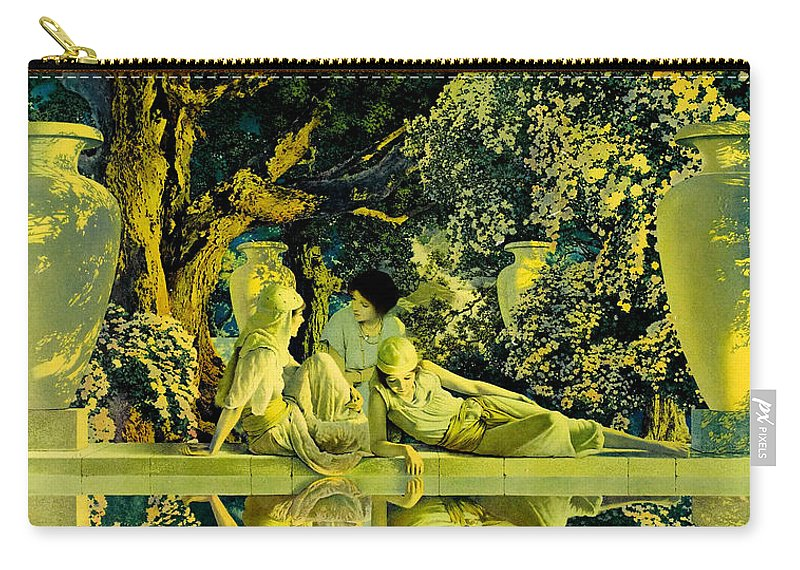 The Garden Of Allah Carry-all Pouch for Sale by Maxfield Parrish