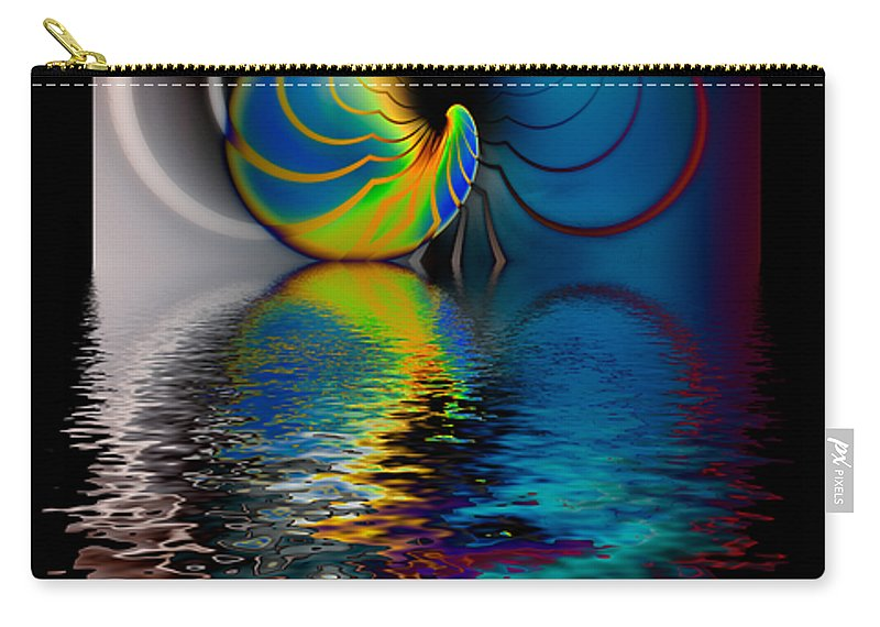 Hakon Carry-all Pouch featuring the photograph The Gate Across The Water by Hakon Soreide