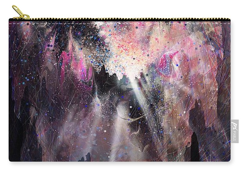 Landscape Carry-all Pouch featuring the digital art The Gift by William Russell Nowicki