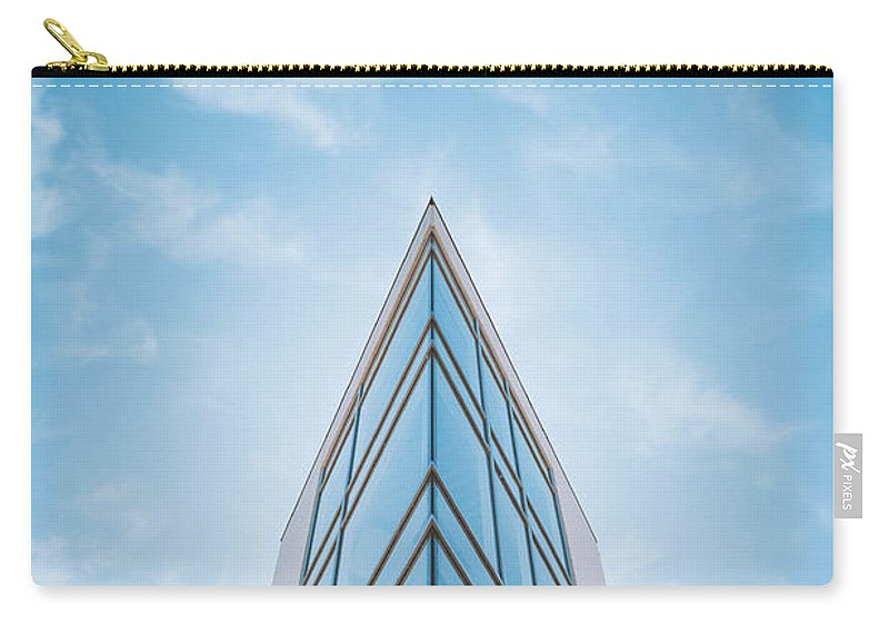 Architecture Carry-all Pouch featuring the photograph The Glass Tower On Downer Avenue by Scott Norris