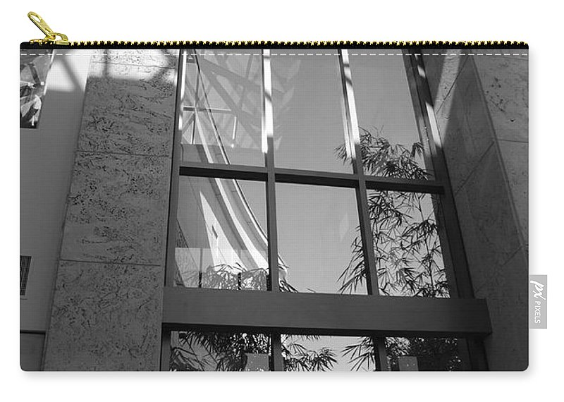 Sun Carry-all Pouch featuring the photograph The Glass Window by Rob Hans